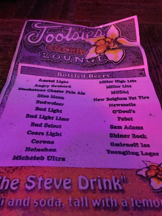 tootsies_beer_list